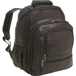 LeDonne Leather Vaqueta Large 15.4-inch Laptop Backpack