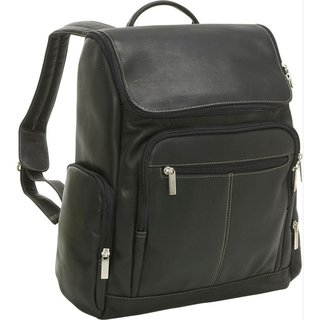LeDonne Leather Vaqueta 15.4-inch Laptop Backpack