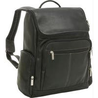 LeDonne Leather Vaqueta 15.4-inch Laptop Backpack
