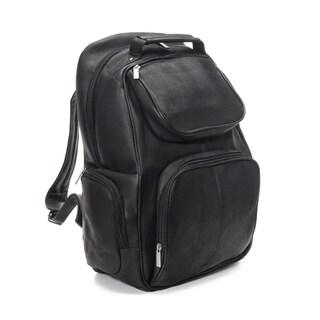 LeDonne Leather Multi Pocket 16-inch Laptop Backpack