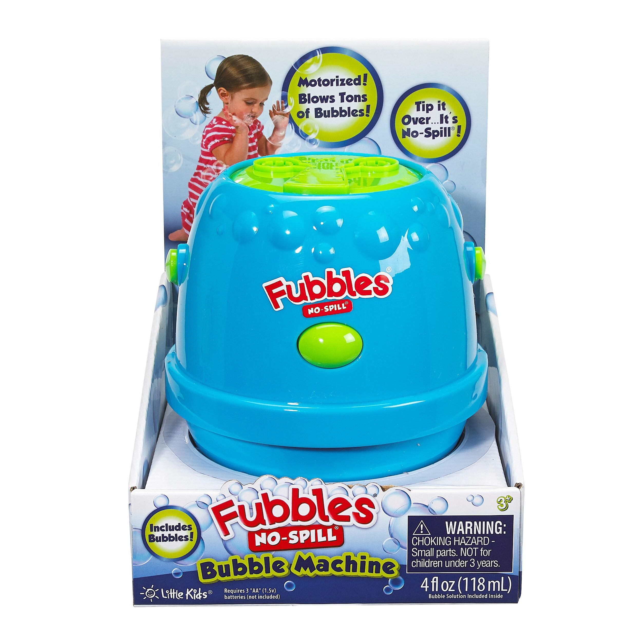 Little Kids Fubbles No Spill Bubble Machine (Pink and Pur...