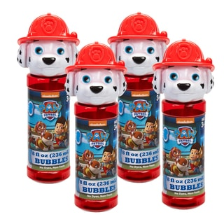 Little Kids Paw Patrol 4-Piece Bubble Heads with Wand