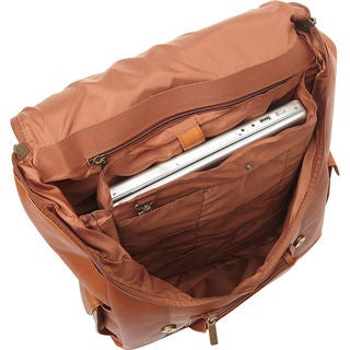 LeDonne Leather Classic Laptop Backpack