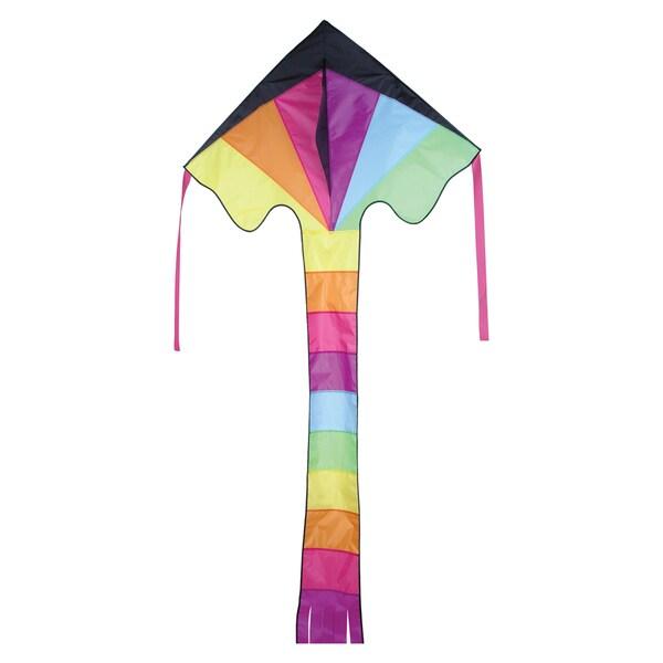 Neon Prism Super Flier Kite