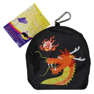 Big Back Pack Sled Kite, Dragon