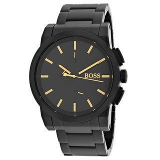 Hugo Boss Men's 1513276 'Blackout Neo' Chronograph Black Stainless Steel Watch
