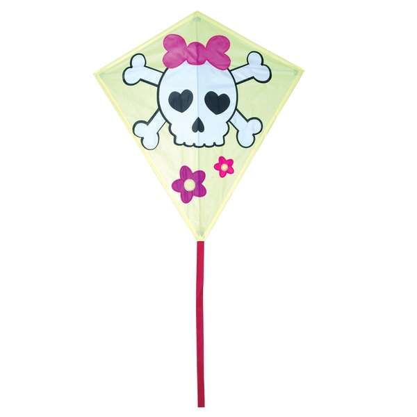 30-inch Girl Skull Diamond Kite