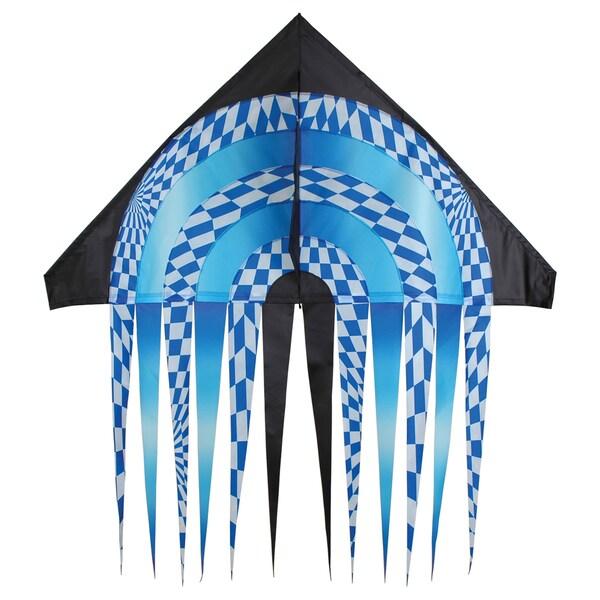 56-inch Blue Opt Stream Delta Kite