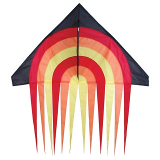 56-inch Fire Ball Stream Delta Kite
