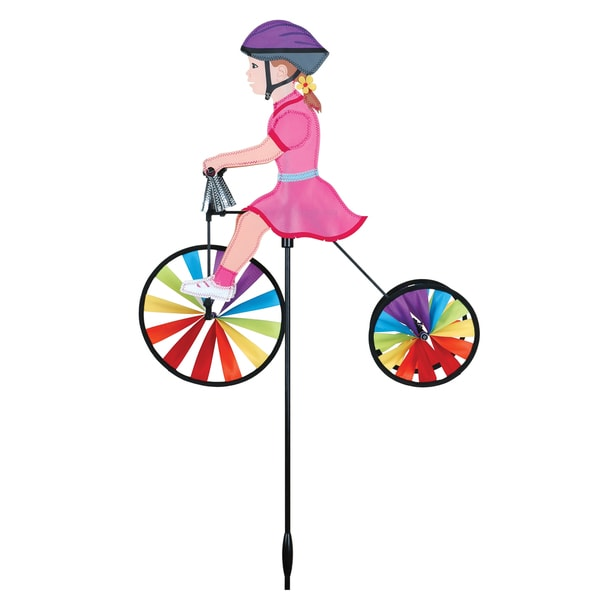 19-inch Girl Tricycle Spinner