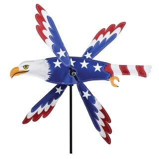18-inch Patriotic Eagle Whirligig