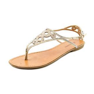 Zigi Soho Women's 'Advice' Tan fabric Sandals