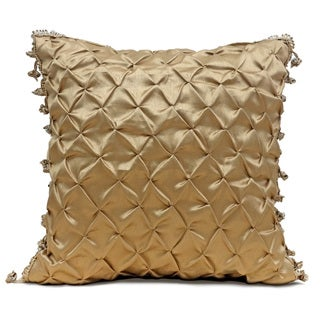 Veratex Contessa Gold Throw Pillow