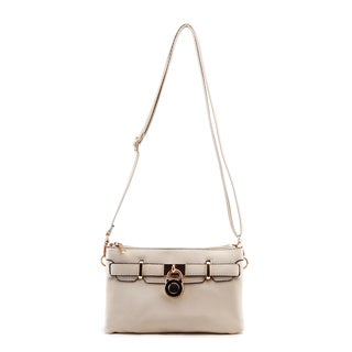 MKF Collection Brittney Padlock Crossbody Bag by Mia K. Farrow