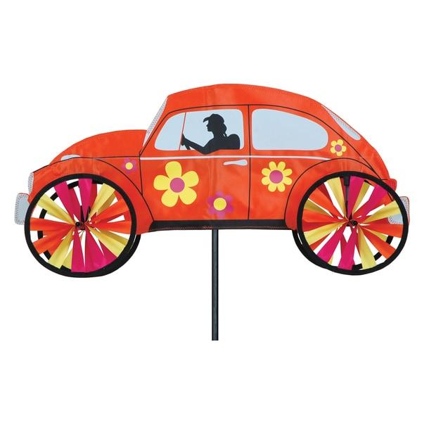 22-inch Orange Hippie Mobile Spinner