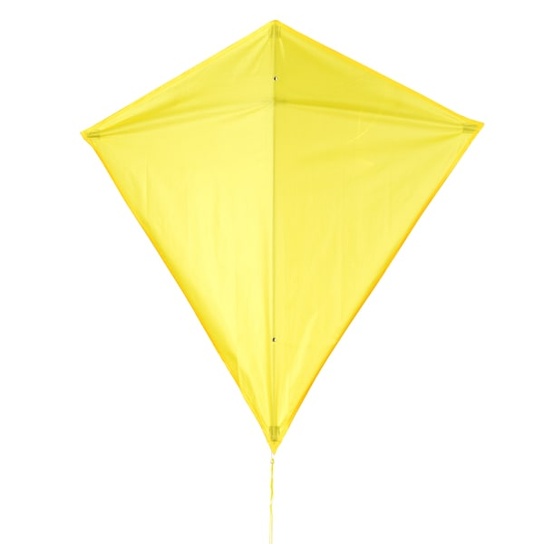 Yellow 30-inch Diamond Kite