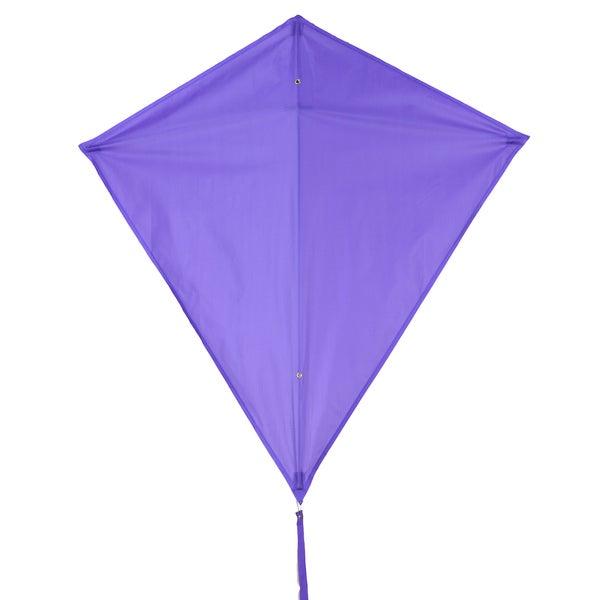 Purple 30-inch Diamond Kite