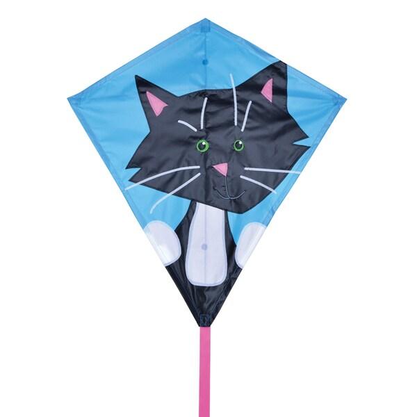 Black Cat 30-inch Diamond Kite