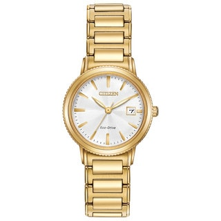 Citizen Women's Goldtone Stainless Steel Silhouette Sport Eco-Drive Watch