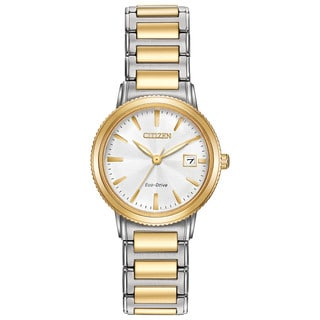 Citizen Women's Two-tone Stainless Steel Silhouette Sport Eco-Drive Watch