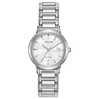 Citizen Women's Stainless Steel Silhouette Sport Eco-Drive Watch