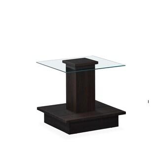 Global Furniture Wenge Finish 3D End Table