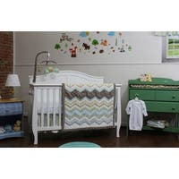 Zig Zag Baby 3-piece Nursery Bedding Set
