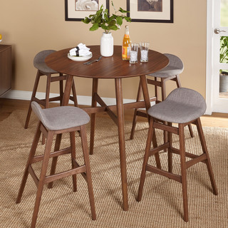 Simple Living 5 Piece Axel Pub Set