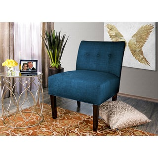 MJL Furniture Samantha Largo Button Tufted Accent Chair
