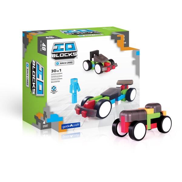 IO Blocks Race Cars Set