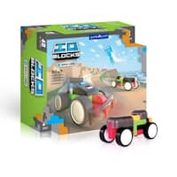 IO Blocks Race Cars Set