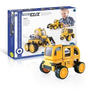 PowerClix Construction Vehicle Set
