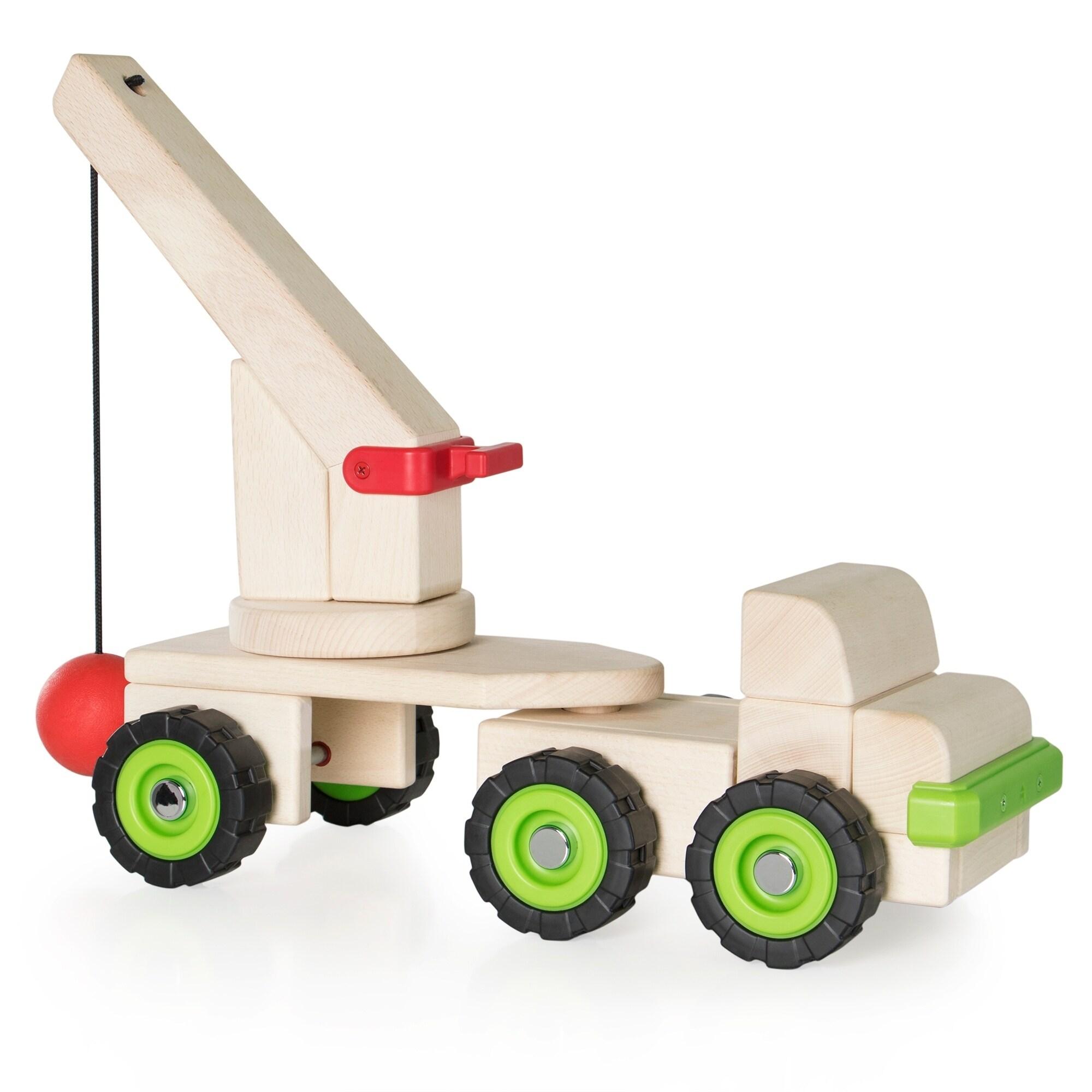Guidecraft Big Block Wrecking Ball Truck (Wrecking Ball T...