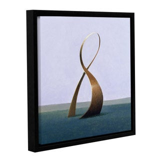 Lincoln Seligman's 'Infinity' Gallery Wrapped Floater-framed Canvas