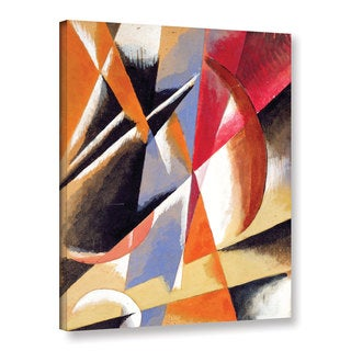 Lyubov Sergeyevna Popova's 'Composition, c.1920' Gallery Wrapped Canvas