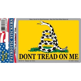 Dont Tread On Me Car Decal