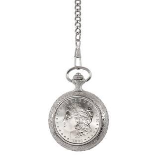 American Coin Treasures Brilliant Uncirculated 1800's Carson City 'CC' Mint Morgan Silver Dollar Poc https://ak1.ostkcdn.com/images/products/11691172/P18616525.jpg?impolicy=medium