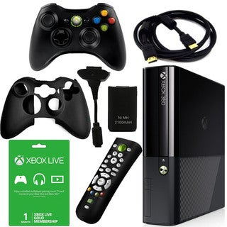 Xbox 360 E 4GB No Kinect with Accessories