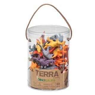 Terra Dinosaur Figures 60-piece Set