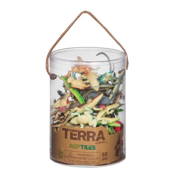 Terra Reptile Figures 60-piece Set