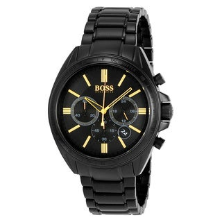Hugo Boss Men's 1513277 'Blackout Driver' Chronograph Black Stainless Steel Watch