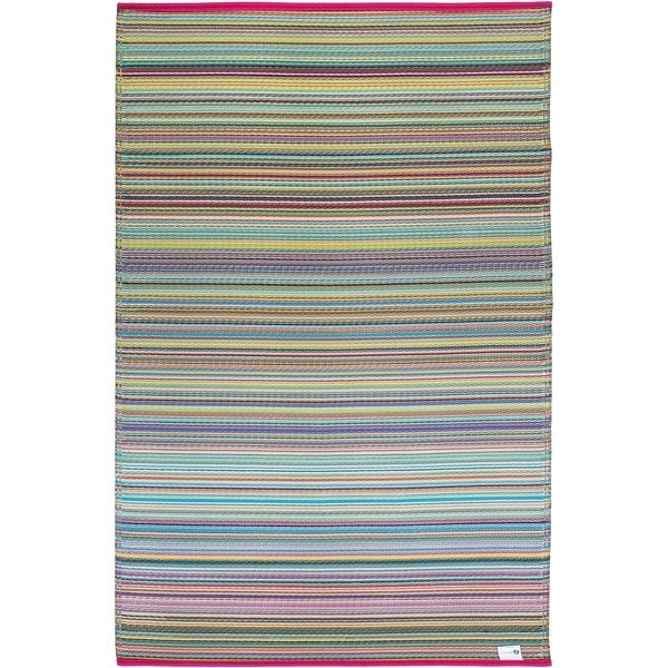 Shop Fab Habitat Indoor Outdoor Recycled Plastic Rug Cancun Candy