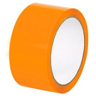 72 Rolls of 2 Inch x 110 Yards Orange Tape - Packing Tape