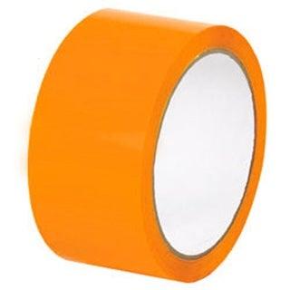 72 Rolls of 2 Inch x 110 Yards Orange Tape - Packing Tape