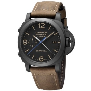 Panerai Men's PAM00580 Luminor 1950 Black Watch