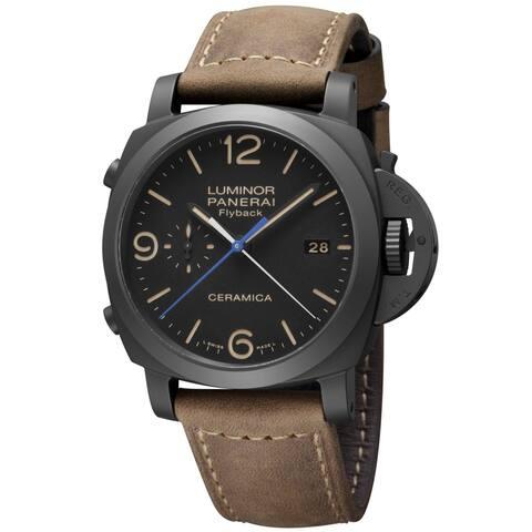 Panerai Men's PAM00580 Luminor 1950 Black Watch