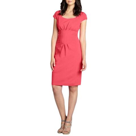 Elie Tahari Gia Pink Dress