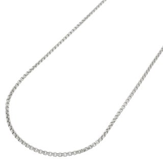 Sterling Silver 1mm Round Box Necklace