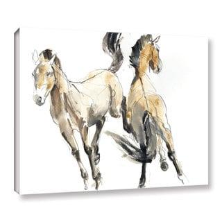 Mark Adlington's 'Horsing' Gallery Wrapped Canvas