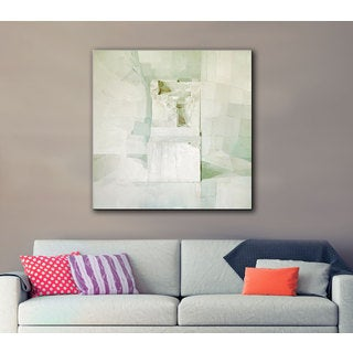 Daniel Cacouault's 'White' Gallery Wrapped Canvas